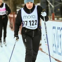 Skiing 90 km - Cecilia Blohm (17122)