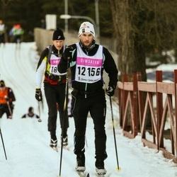 Skiing 90 km - Fredrik Ekvall (12156)