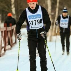 Skiing 90 km - Daniel Bäckström (17798)