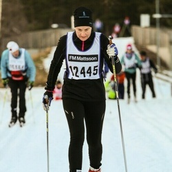 Skiing 90 km - Arlett Ballnus (12445)