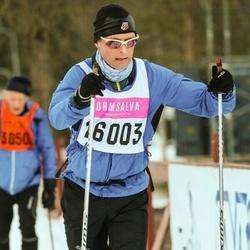 Skiing 90 km - Anders Nässén (16003)