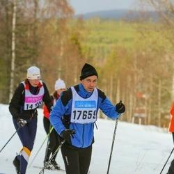 Skiing 90 km - Fredrik Eckerström (17659)