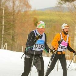 Skiing 90 km - Jörgen Nilsson (14060), Alexander Junker (17568)