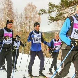 Skiing 90 km - Adam Thomas Eriksson (13240)