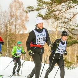 Skiing 90 km - Henrik Litz (15136), Ida Maier (15138)