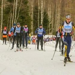 Skiing 90 km - Ulf Palmquist (13670), Anders Österling (15952)