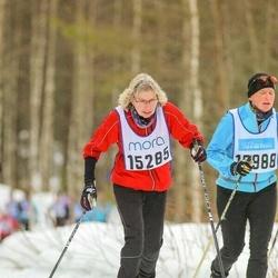 Skiing 90 km - Elisabeth Malmborg (15285), Camilla Asplund (15988)