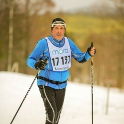 Skiing 90 km - Christer Lygnersjö (17137)