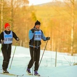 Skiing 90 km - Mikael Bäckström (17797), Daniel Bäckström (17798)