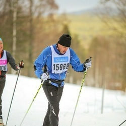 Skiing 90 km - Daniel Svanström (15869)