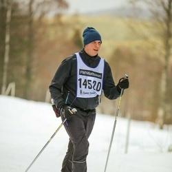 Skiing 90 km - Daniel Severin (14520)