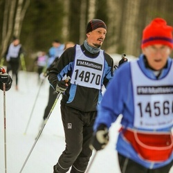 Skiing 90 km - Arvid Thuestad (14870)