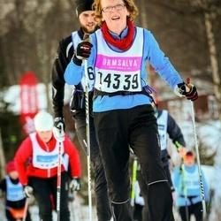 Skiing 90 km - Annika Åhman (14339)