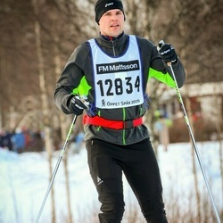 Skiing 90 km - Mikael Lundén (12834)