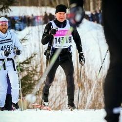 Skiing 90 km - Anders L Östlund (14318)