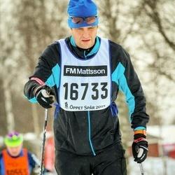 Skiing 90 km - Fredrik Wollin (16733)