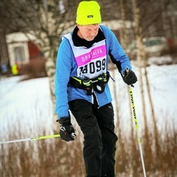 Skiing 90 km - Sylve Andersson (18099)