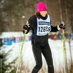 Skiing 90 km - Saga Dahlsberg (12639)