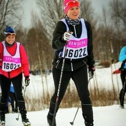 Skiing 90 km - Malin Folke (16022)