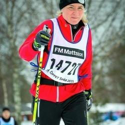 Skiing 90 km - Christina Patricks (14727)