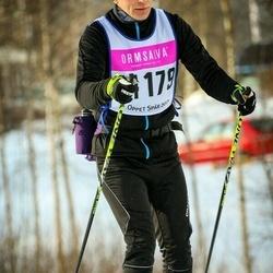 Skiing 90 km - Dennis Langston Overgaard (14179)