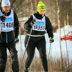 Skiing 90 km - Per Hansson (11468), Åsa Norman (15551)