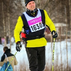 Skiing 90 km - Henrik Nilsson (16303)