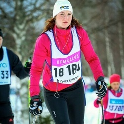 Skiing 90 km - Erika Lindström (18183)