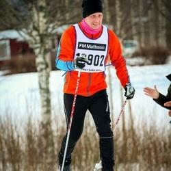 Skiing 90 km - Christer Friberg (12902)