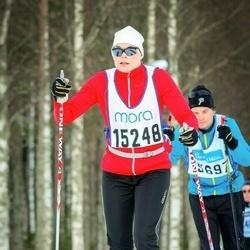 Skiing 90 km - Lotta Andren (15248)