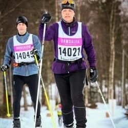 Skiing 90 km - Camilla Wallin (14021)