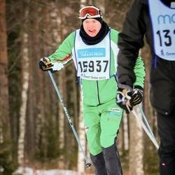 Skiing 90 km - Johan Knuts (15937)