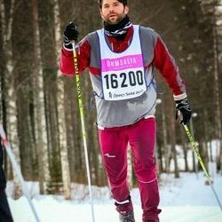 Skiing 90 km - Axel Bladh (16200)