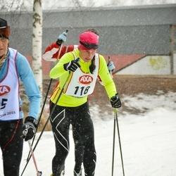 Skiing 45 km - Emma Karlsson (118)
