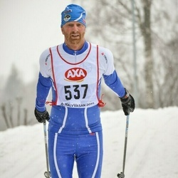 Skiing 45 km - Gabriel Montgomery (537)