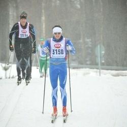 Skiing 45 km - Fredrik Dalen (3150)