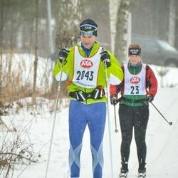 Skiing 45 km - Gunnar Andersson (2043)