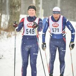 Skiing 45 km - Hilma Spik (549), Torbjörn Spik (571)