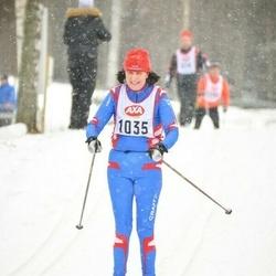 Skiing 45 km - Kristina Karlsson (1035)
