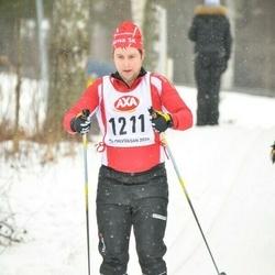 Skiing 45 km - Daniel Modigh (1211)