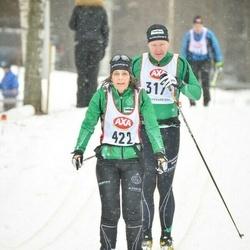 Skiing 45 km - Katharina Hasselgren (422)