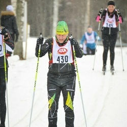 Skiing 45 km - Lars Skeppstedt (430)