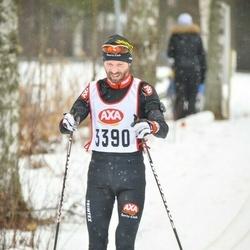 Skiing 45 km - Michael Larsson (3390)