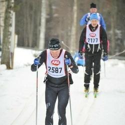 Skiing 45 km - Peter Lundgren (2587)