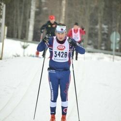 Skiing 45 km - Max Bäckström (3428)