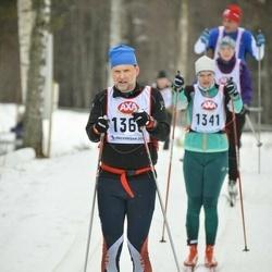 Skiing 45 km - Erik Svenson (1360)
