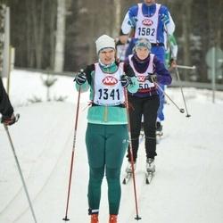 Skiing 45 km - Kristin Svensson (1341)