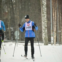 Skiing 45 km - Mikael Eriksson (1490)