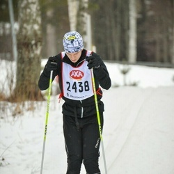 Skiing 45 km - Gustav Nyholm (2438)