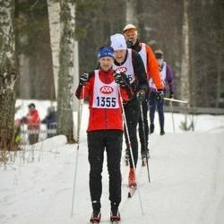 Skiing 45 km - Fredrik Reinhold (1355)